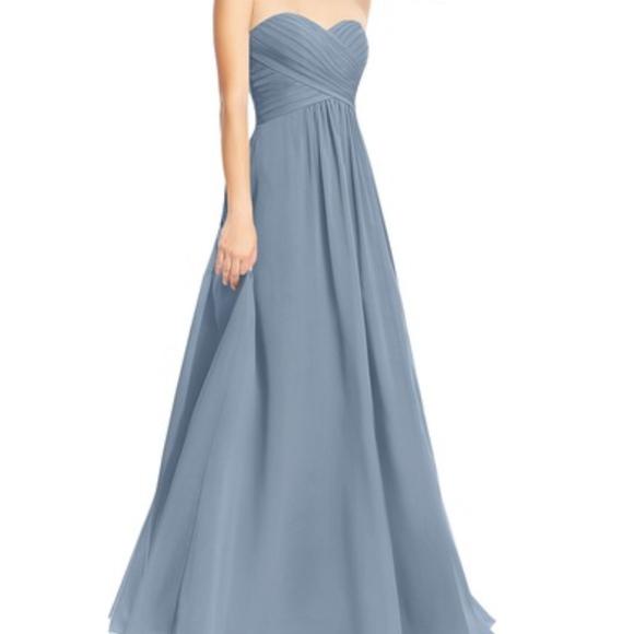 52295cb8ca9 Azazie Dresses   Skirts - Azazie Yazmin Dress in Dusty Blue